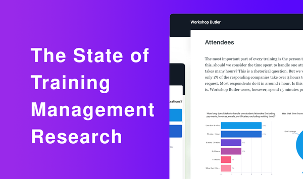 The state of training management 2020 survey results